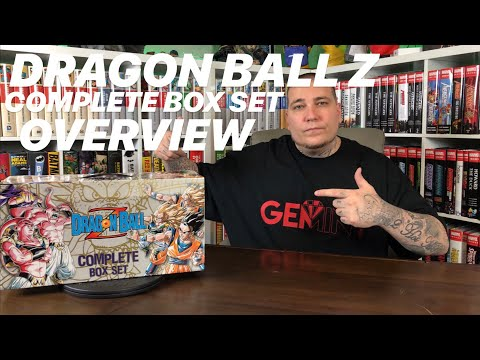 DRAGON BALL Z Complete Box Set Overview