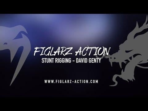 Stunt rigging demo reel - Figlarz Action - David Genty