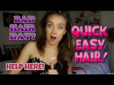 fast hair styles and easy hair styles veal 1310