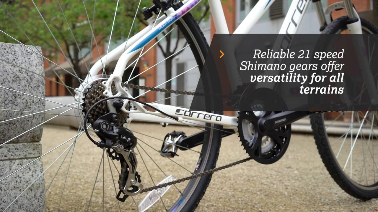 Carrera Crossfire 1 Women's Hybrid Bike | Halfords UK