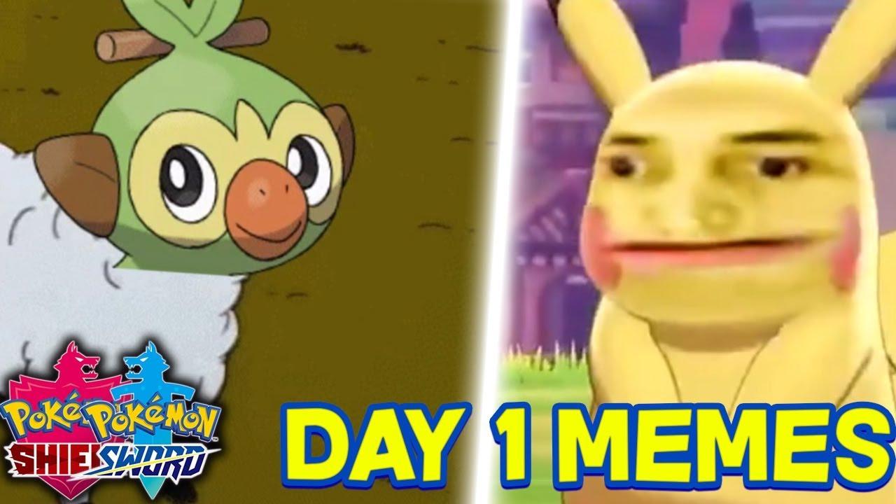 Best Pokemon Sword And Pokemon Shield Day 1 Memes Youtube