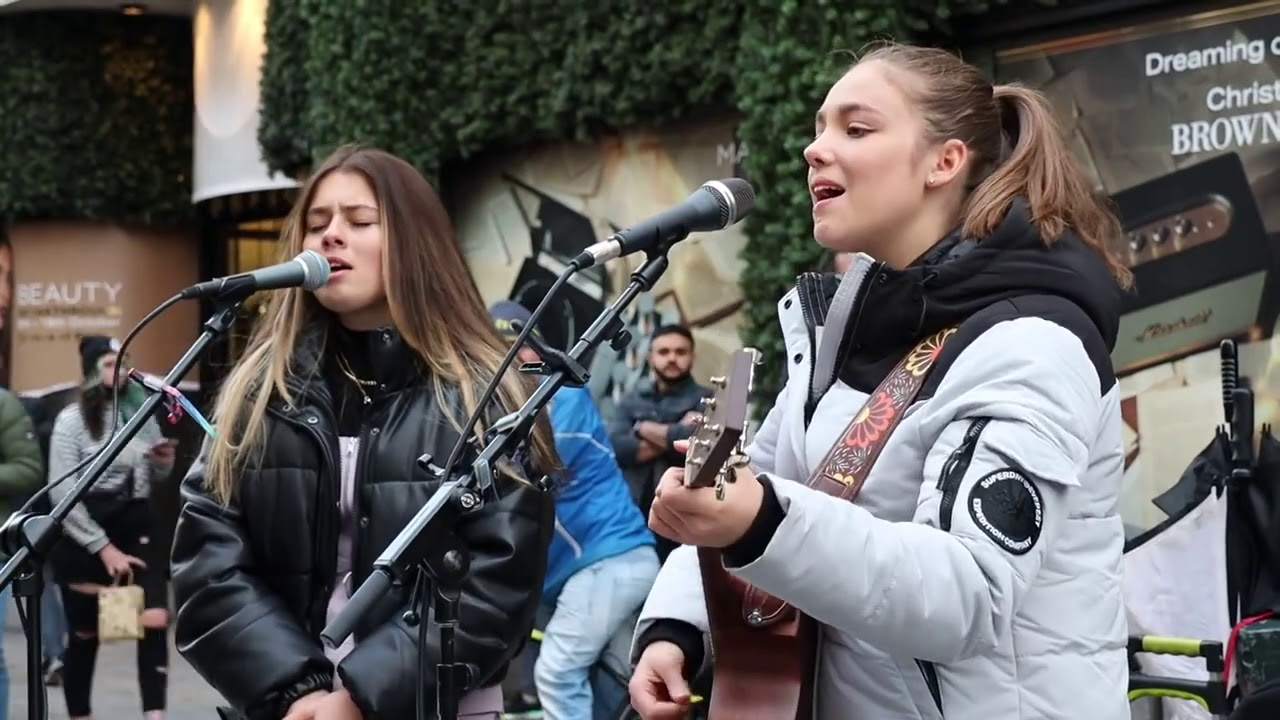 STREET WENT WILD FOR THIS PERFORMANCE | Sam Smith - Lay Me Down | Allie Sherlock & Saibh Skelly