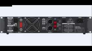 Behringer EUROPOWER EP4000 Professional 4,000 Watt Stereo Power Amplifier