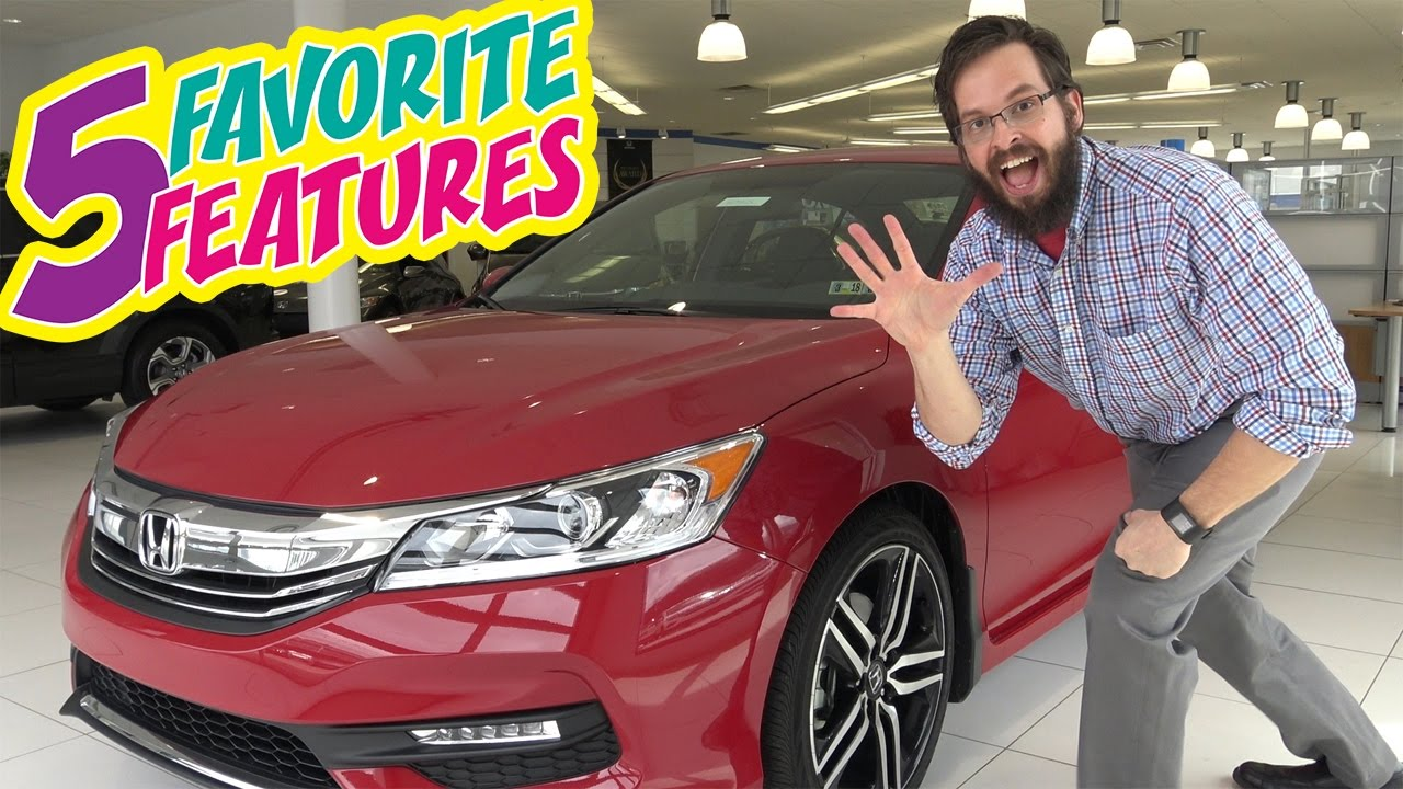 2017 Honda Accord Sport Special Edition 5 Favorite Features