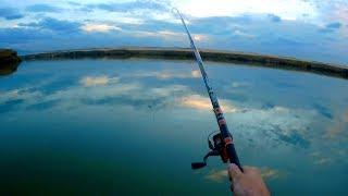 Озеро К-28 близ Алматы ч.2. Рыбалка, палатка, полеты и купание прилагаются.