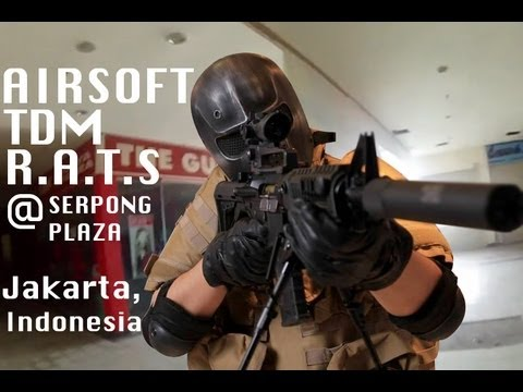 Airsoft | TDM | R.A.T.S | Plaza Serpong | 7/7/13 HD
