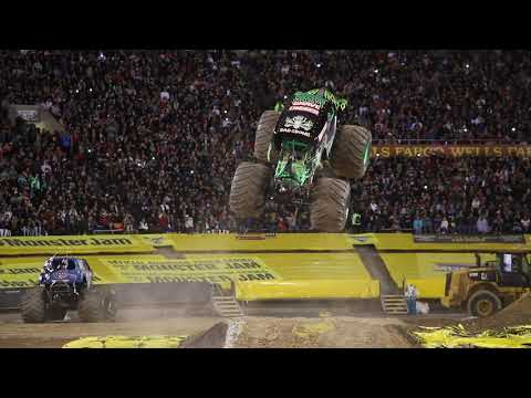 Grave Digger Driver Randy Brown's Freestyle | El Paso 2018