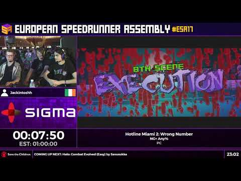 #ESA17 Speedruns - Hotline Miami 2: Wrong Number [NG+ Any%] by Jackintoshh
