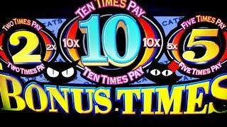 Dancing Drums 💃🏻🛢🛢 Bonus Times 💰 The Slot Cats 🎰😺😸