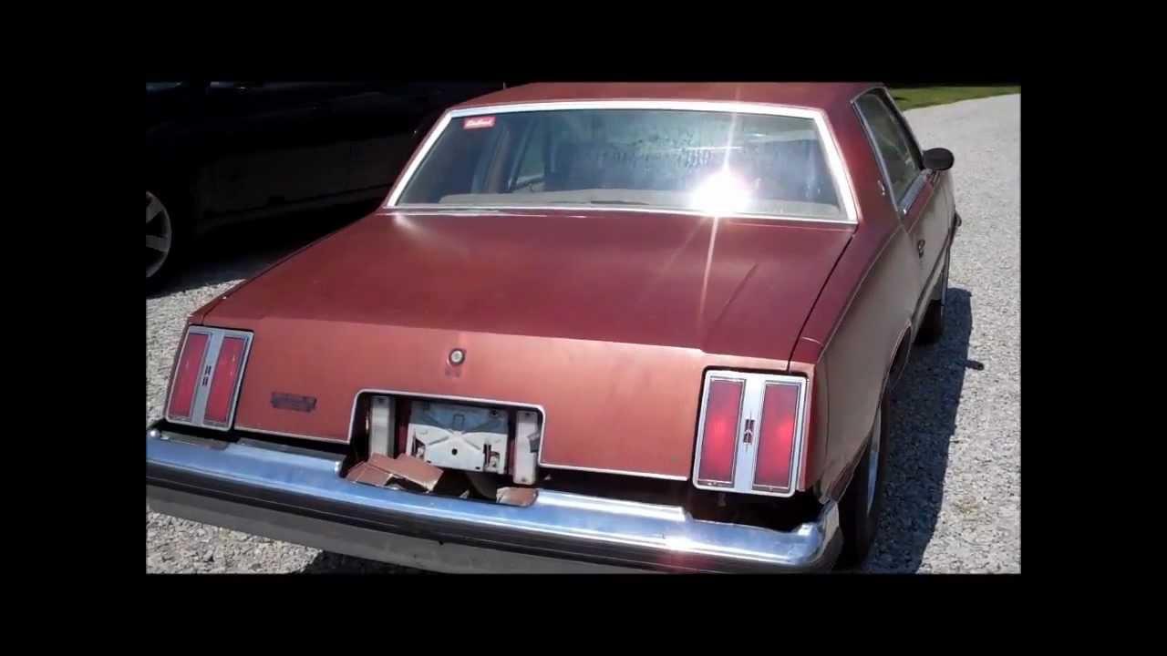 1978 cutlass calais 4 speed barn find walk around classic