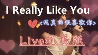 〓I Really Like You【我真的很喜歡你】Live現場版- Carly Rae Jepsen 獻唱 中文字幕〓
