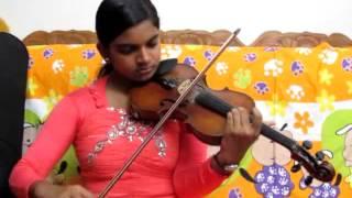 Violin Cover of Malarkodi Pole by Abha Trivandrum ( Disciple of Violinist P Chidambaranath )