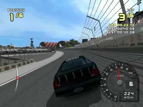 ford racing 2 for pc with my car : taurus stock car - class D