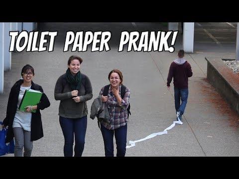 TOILET PAPER PRANK!