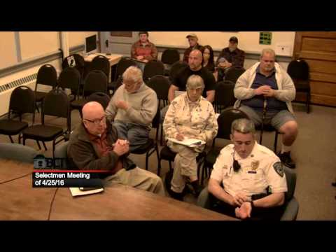 Selectmen Meeting 4/25/16