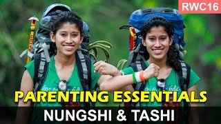 Extreme achievement in Extreme environments: Nungshi & Tashi at the RWC16