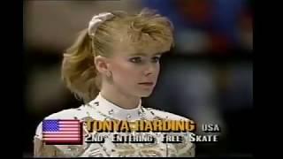 トーニャ・ハーディング   1991年 アメリカ大会 フリー 【トリプルアクセル】