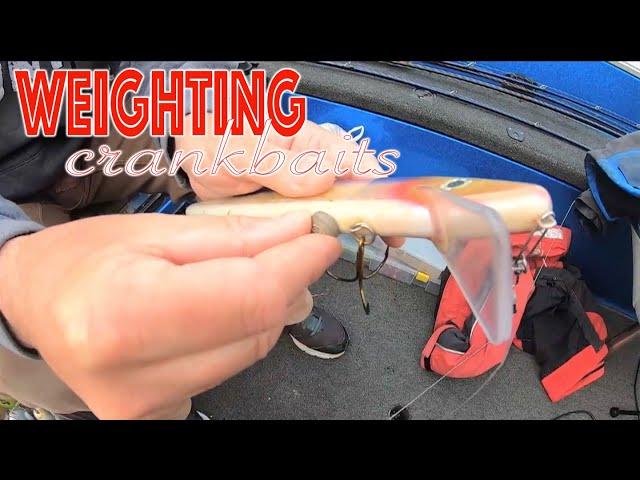 Musky Fishing Tip Weighting Crankbaits