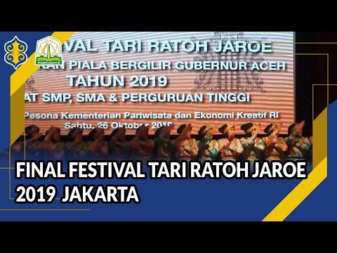 Final Festival Tari Ratoh Jaroe 2019