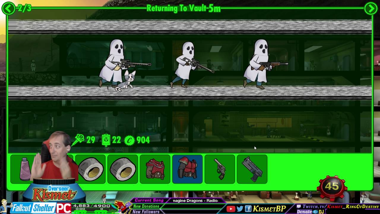 highlight fallout shelter halloween fun