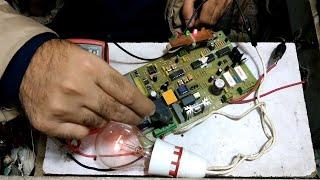 How To Repair UPS 12v Board Not Charging Battery In Urdu