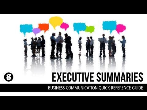 Executive Summaries