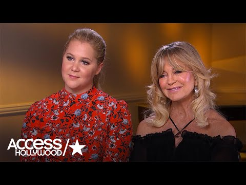 Amy Schumer On If She's Ever Asked Goldie Hawn For Relationship Advice!  Access Hollywood