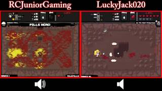 Let's Race Binding of Isaac w/RCJuniorGaming