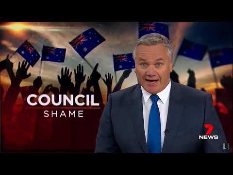 Nine + Seven News. Australian Hating Yarra City Council Update. (Australia Day Dump)
