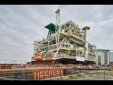 Montrose BLP topside for Repsol Sinopec