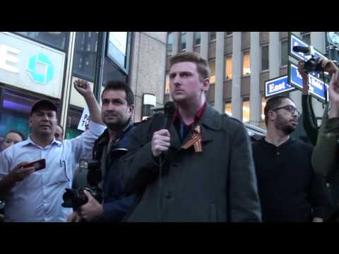 "$18 Million Per Day - Caleb Maupin at ""Day of Rage"" Palestine Rally"
