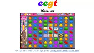 Candy Crush Level 50 - NO BOOSTERS OR CHEATS!