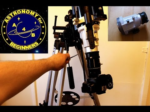 How to improve on a Focuser entry level Refractor telescope