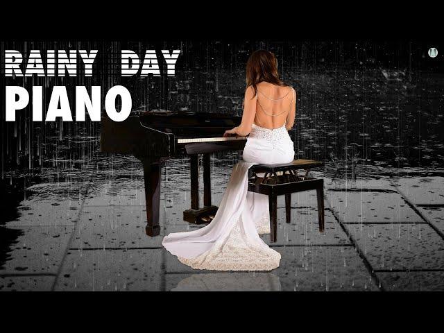 """Relaxing Piano Music with Rain Sounds - 30 min. """"Rainy Day Piano"""" - Piano & Rain Music"""