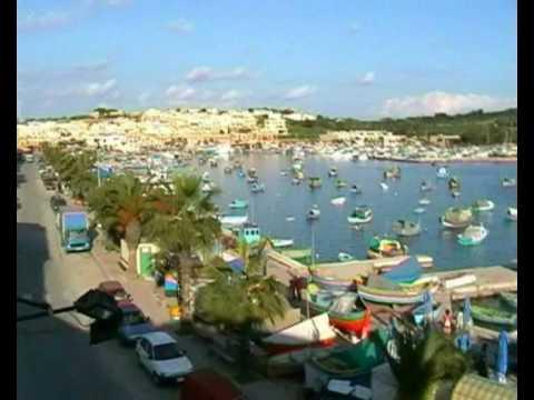 Marsaxlokk MALTA fishing village