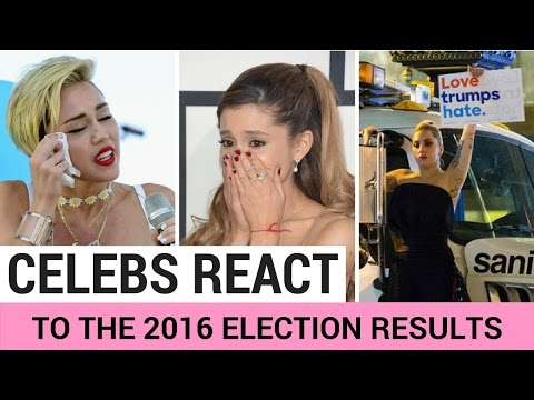 Celebrities React To Donald Trump Winning Election!
