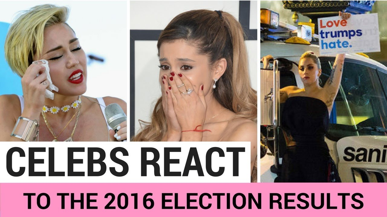 Celebrities React To Donald Trump Winning Election! | Hollywire