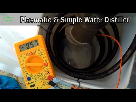 Homemade Plasmatic & Simple Water Distiller + Cold Nano Coating & Discharging Process - Tutorial