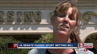 Iowa moves closer to legalizing sports betting