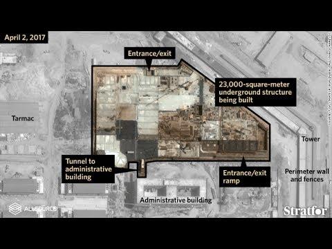 Satellite Photos Reveal Underground Construction At Chinese Military Base