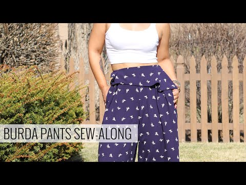 Burda Pants Sew-Along w/ Mimi G
