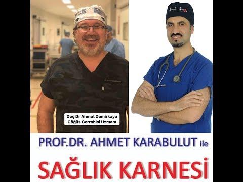 AKCİĞER KANSERİ (BİLMENİZ GEREKENLER) - DOÇ DR AHMET DEMİRKAYA - PROF DR AHMET KARABULUT   POSTA