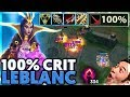 MY EDITOR IS INSANE | I CAN 1V5 | 100% CRIT LEBLANC - BunnyFuFuu
