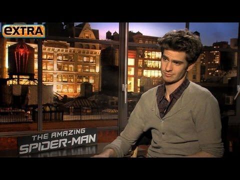 Andrew Garfield: His 'SpiderMan' Hair and Girlfriend Emma Stone