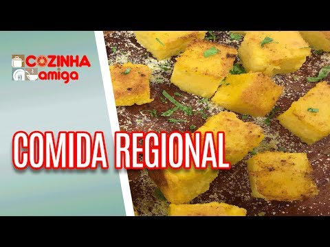 Carne De Charque E Dadinho De Polenta - Patricia Gonçalves | Cozinha Amiga (04/07/18)