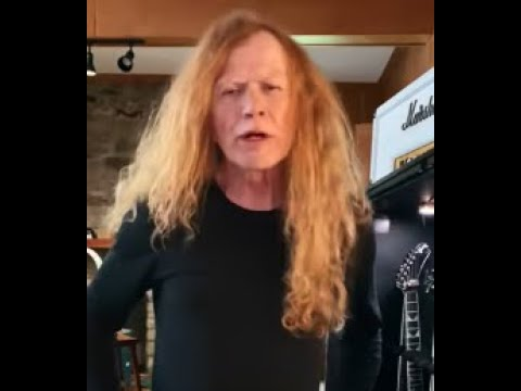 """Megadeth'sDave Mustaineteased new song off new album """"The Sick, The Dying And The Dead"""""""