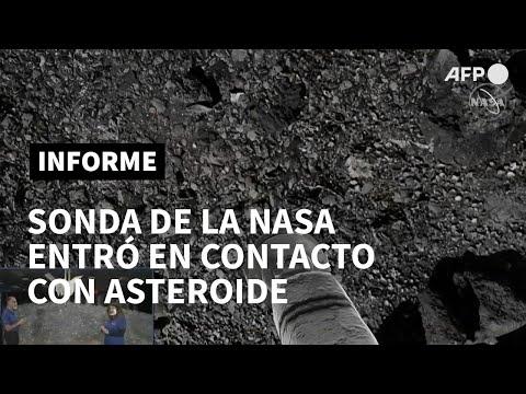 AFP Español: Sonda Osiris-Rex de la NASA entró en contacto con asteroide en misión histórica   AFP