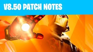 Patch notes Full Details! Avengers x Fortnite NEW Thanos Update