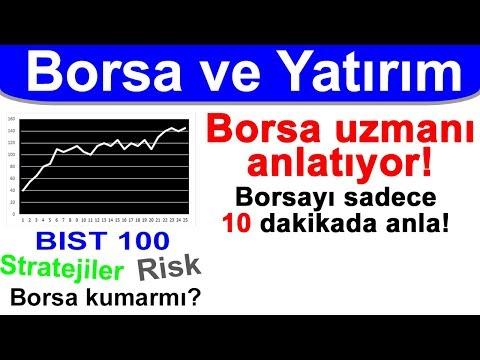 Borsayı 10 dakikada anla - BİST 100, Hisse senetleri, Borsa nedir ve Yatırım nasıl yapılır?