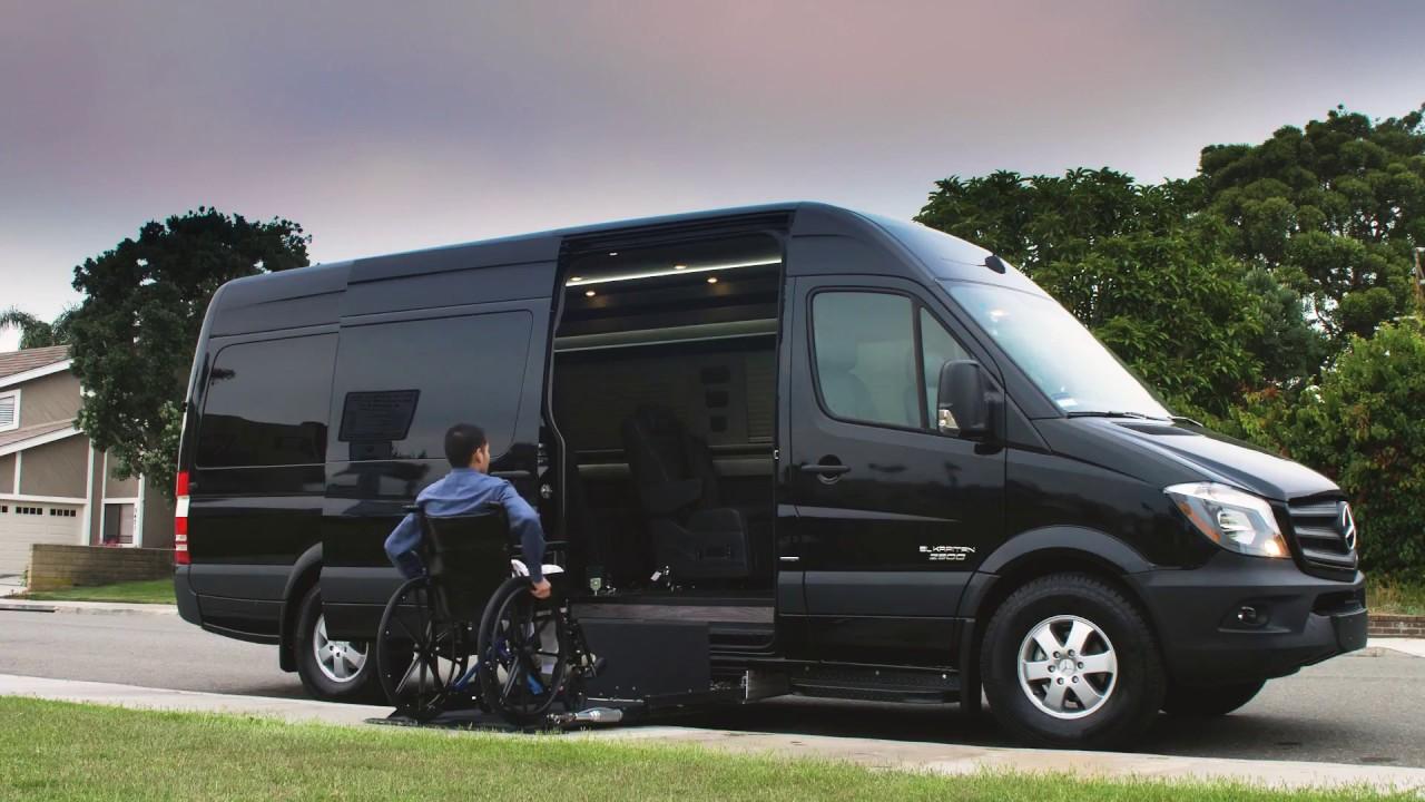 El Kapitan Mobility Van 170 Mercedes Benz Sprinter Van